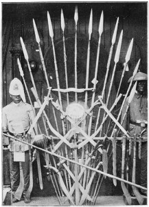 Lance e spade originarie di Mindanao, Filippine Meridionali