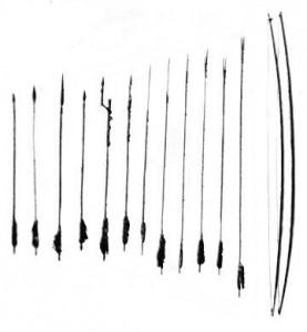 Archi e frecce Negritos