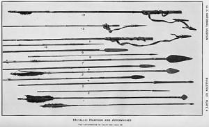 Krieger - Tav. 4 - Frecce e arpioni metallici