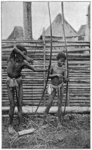 Negritos or aeta boys