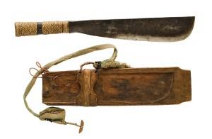 Pinahig - Machete della tribù Ifugao risalente alla metà del XX secolo