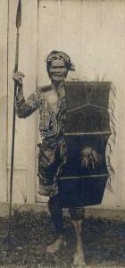 Guerriero Bagobo 1907