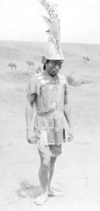 Guerriero Moros dell'isola di Jolo