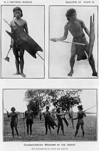 Krieger - Tav. 18 - Armi caratteristiche degli Igorot