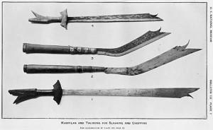 Krieger - Tav. 7 - Panabas e Talibong