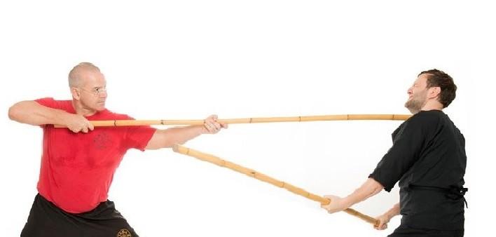 Il Bangkaw è il bastone lungo filippino o la lancia se provvisto di punta