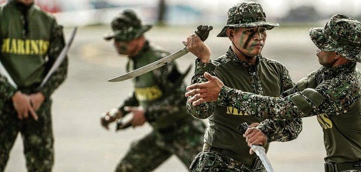 Ginunting - Marines filippini - Manuel S. Prado