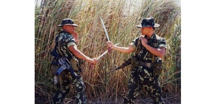 Kali Escrima Arnis - Marines filippini in addestramento militare al combattimento