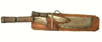 Pinahug - machete e coltello