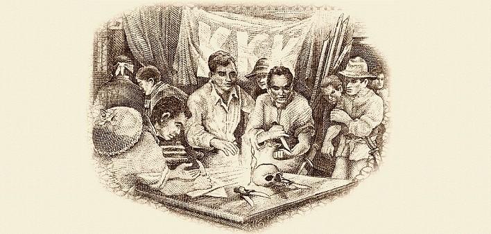Rito di iniziazione Katipunan, 1892