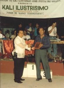 1st Kali Ilustrisimo Grandmaster's Cup Arnis Tournament (Dicembre 1991)