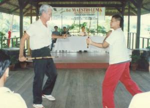 1st Maestro Lema Grandmaster's Cup Arnis Tournament (Agosto 1991)