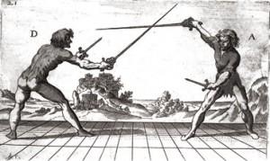 Espada y Daga - Immagine tratta da un lavoro di Ridolfo Capoferro