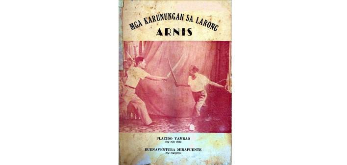 Mga Karunungan Sa Larong Arnis - Libro sul Kali Arnis Escrima
